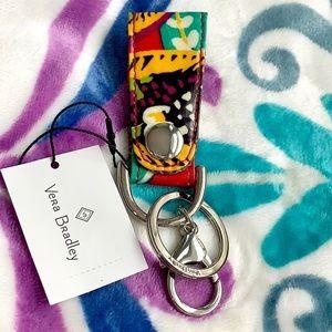 Vera Bradley Loop Keychain/ Key Fob. NWT